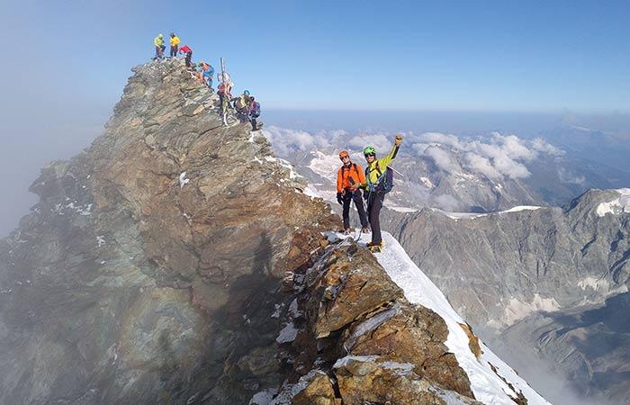 Ascensió al Cervino 4.478m