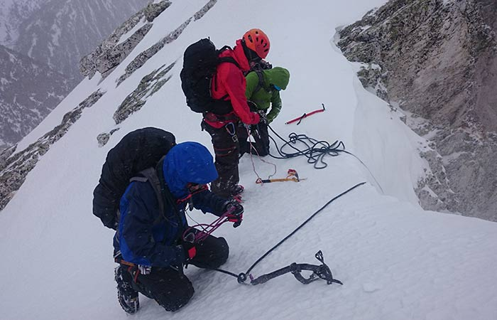 Curs Alpinisme nivell Mig – 4 dies