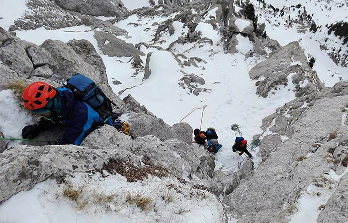 Curs alpinisme nivell 5