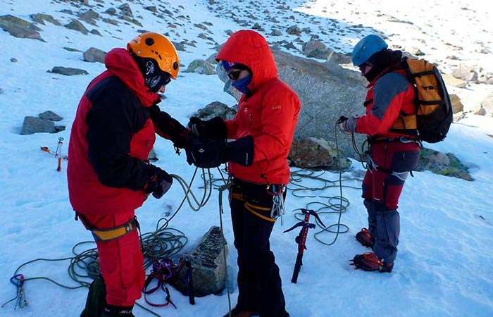 Curs alpinisme nivell 1