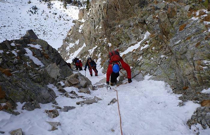 Curs alpinisme nivell 2
