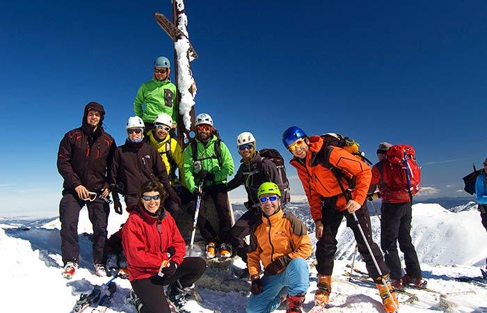 Jornada Iniciació Esquí de Muntanya