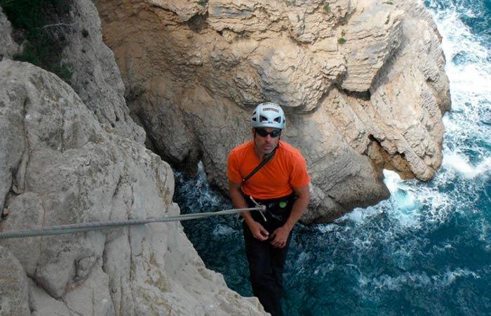 Escalada Via Llarga Intrèpida Sirena (V+/6a, 100m)