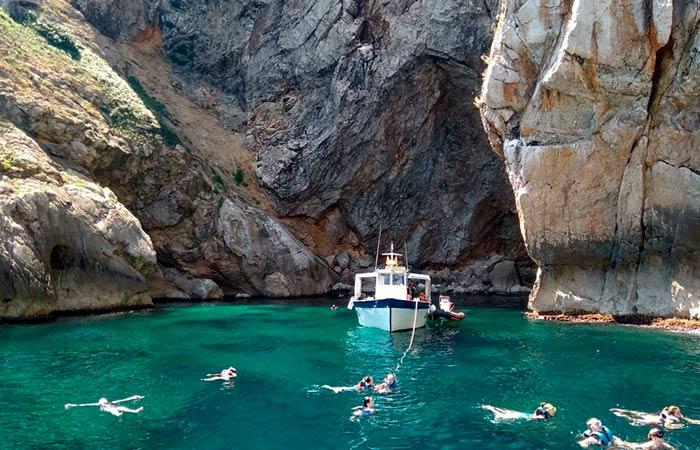 Colònies d'Aventura al Mar (Baix Empordà)