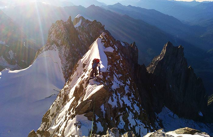 Cresta Innominata al Mont Blanc