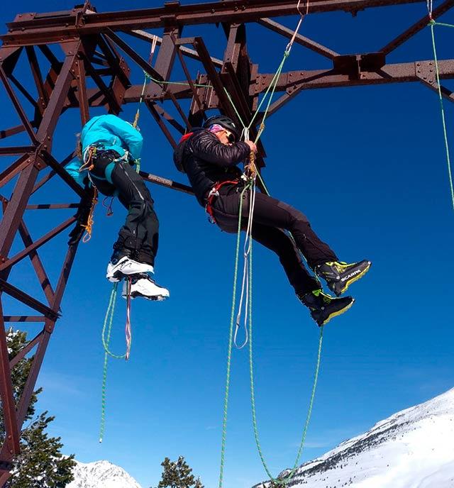 cursos i formació amb guies de muntanya